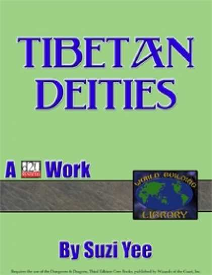Role Playing Games - World Building Library: Tibetan Deities