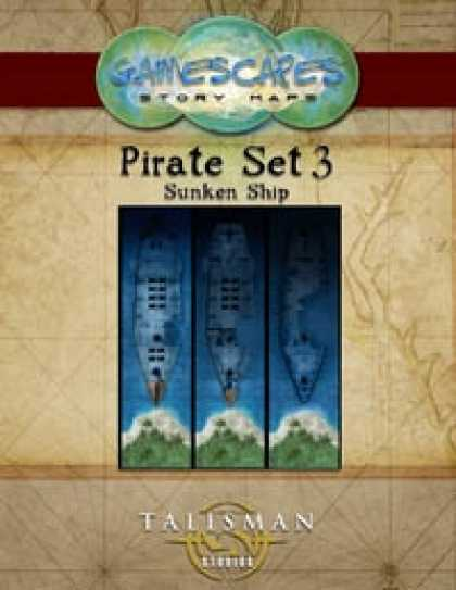 Role Playing Games - Gamescapes: Story Maps, Pirate Set 3