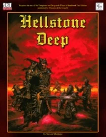 Role Playing Games - MonkeyGod Presents: Hellstone Deep