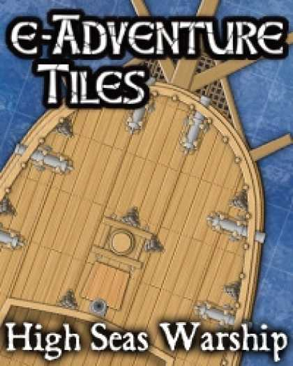 Role Playing Games - e-Adventure Tiles: High Seas Warship