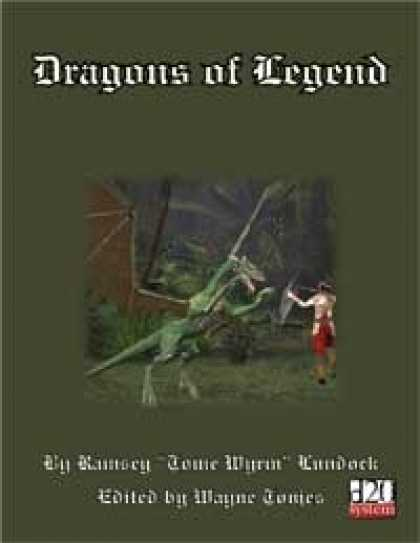 Role Playing Games - Dragons of legond