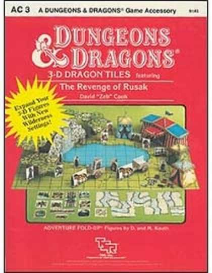 Role Playing Games - AC3 - 3-D Dragon Tiles