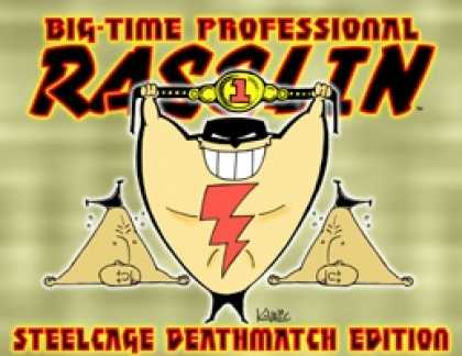 Role Playing Games - Big Time Professional Rasslin - Steel Cage Deathmatch Edition