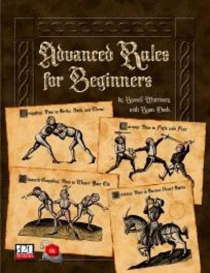 Role Playing Games - Advanced Rules for Beginners