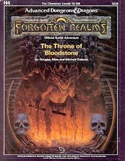 Role Playing Games - The Throne of Bloodstone