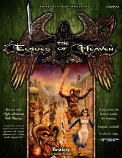 Role Playing Games - The Echoes of Heaven Bestiary/The Tainted Tears (HARP Version)
