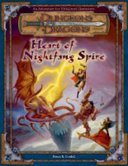 Role Playing Games - Heart of Nightfang Spire