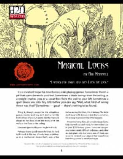 Role Playing Games - Lions Den Press: Magical Locks