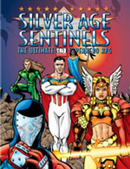 Role Playing Games - Silver Age Sentinels: d20 Edition