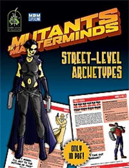 Role Playing Games - Mutants & Masterminds Street-Level Archetypes