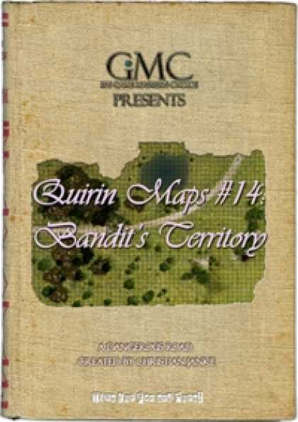 Role Playing Games - Quirin Maps #14: Bandit's Territory