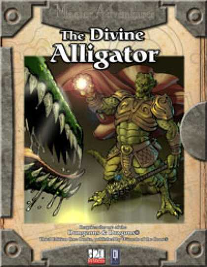 Role Playing Games - The Divine Alligator