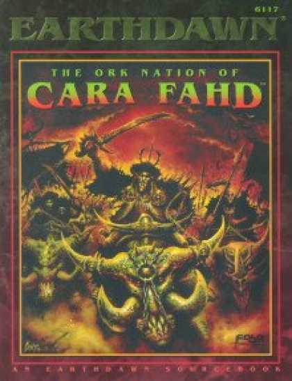 Role Playing Games - The Ork Nation of Cara Fahd