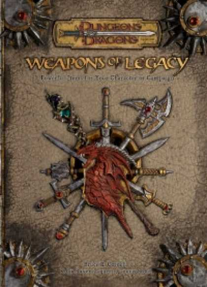 Role Playing Games - Weapons of Legacy
