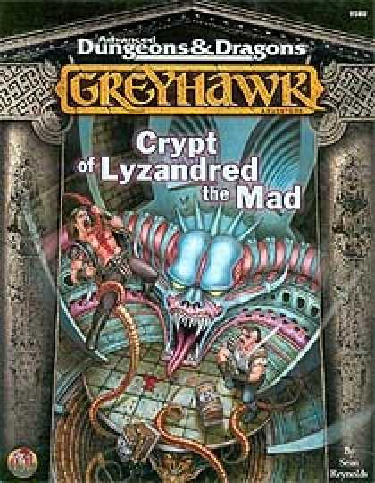 Role Playing Games - Crypt of Lyzandred the Mad
