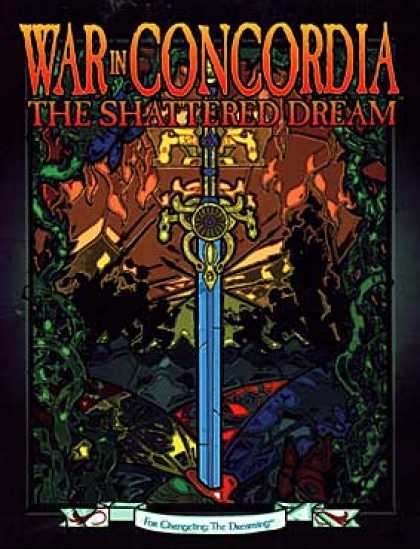 Role Playing Games - War in Concordia: The Shattered Dream