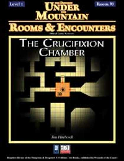 Role Playing Games - Rooms & Encounters: The Crucifixion Chamber