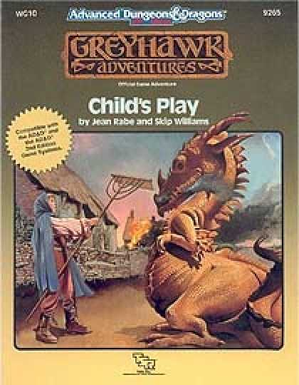 Role Playing Games - WG10 - Childs Play