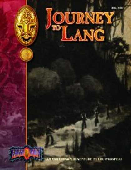 Role Playing Games - Journey to Lang: An Earthdawn Shard