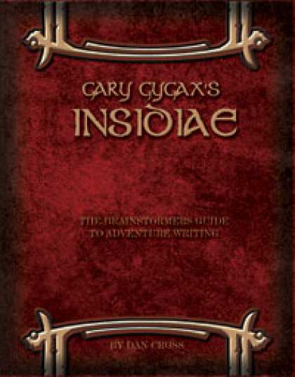 Role Playing Games - Gary Gygax's Insidiae