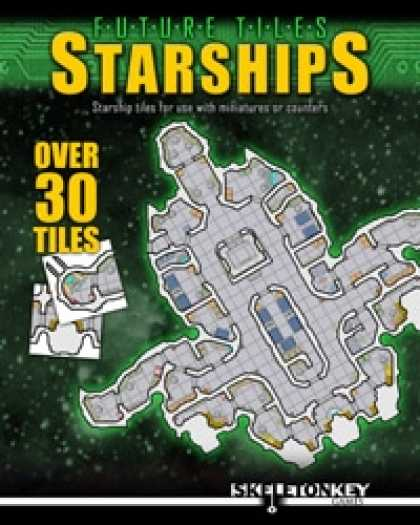 Role Playing Games - Future Tiles: Starships