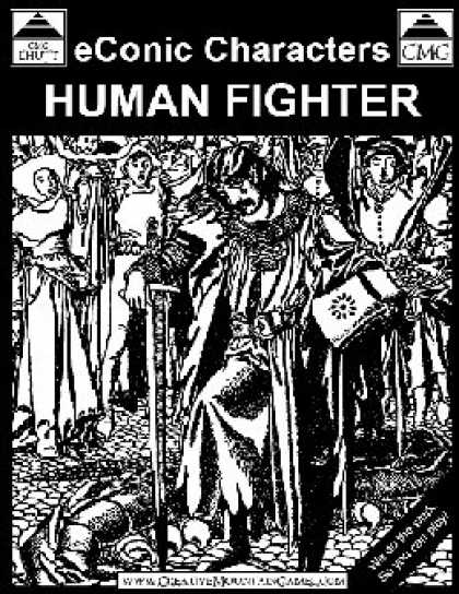 Role Playing Games - (Aid) The eConic Human Fighter