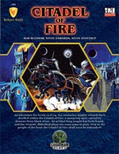 Role Playing Games - Judges Guild JG2: Citadel of Fire