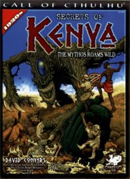 Role Playing Games - Secrets of Kenya - 23109