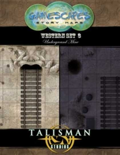 Role Playing Games - Gamescapes: Story Maps, Western Set 3