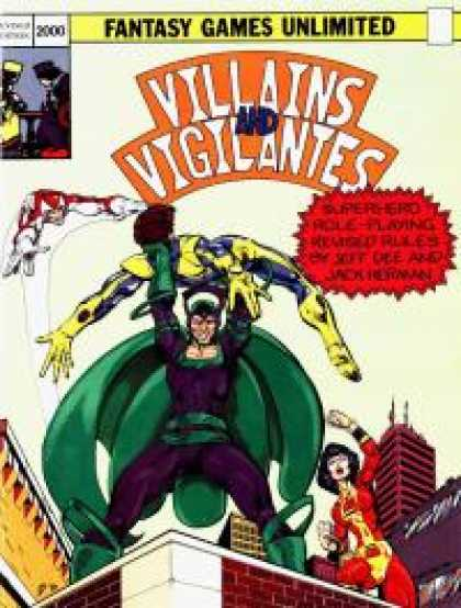 Role Playing Games - Villains and Vigilantes