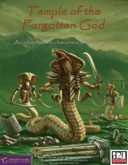 Role Playing Games - Temple of the Forgotten God