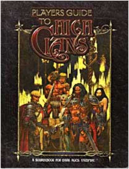 Role Playing Games - Dark Ages: Players Guide to the High Clans