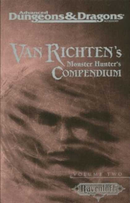 Role Playing Games - Van Richten's Monster Hunter's Compendium, Vol 2