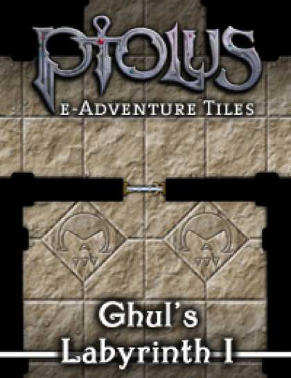 Role Playing Games - Ptolus e-Adventure Tiles: Ghul's Labyrinth I
