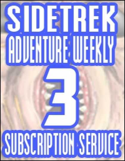 Role Playing Games - Sidetrek Adventure Weekly 3 Subscription Service