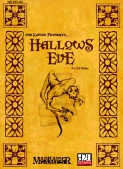 Role Playing Games - Hallows Eve - 11 Halloween Monsters