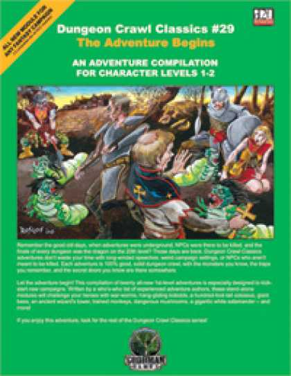 Role Playing Games - Dungeon Crawl Classics #29: The Adventure Begins