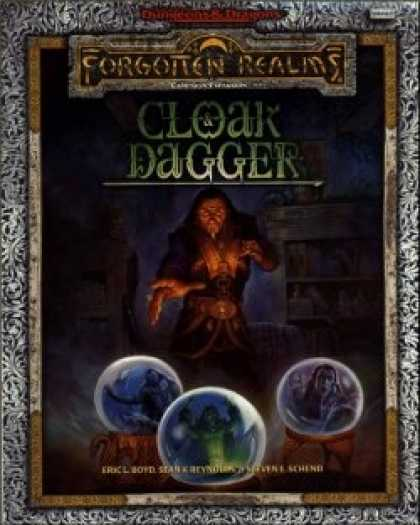 Role Playing Games - Cloak and Dagger