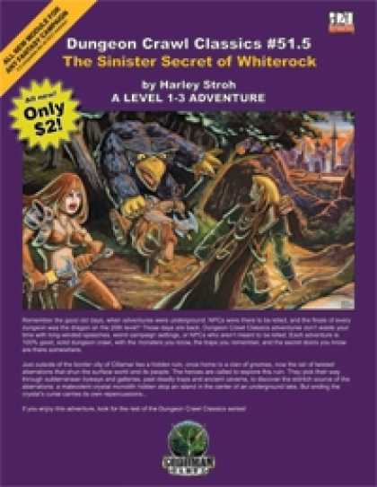Role Playing Games - Dungeon Crawl Classics #51.5: Sinister Secret of Whiterock