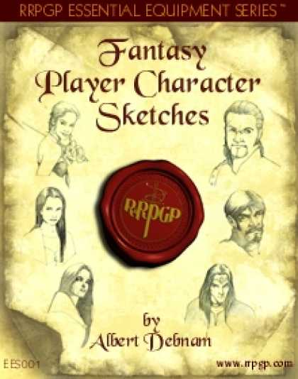 Role Playing Games - Fantasy Player Character Sketches