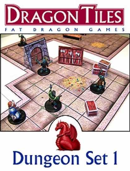Role Playing Games - DRAGON TILES: Dungeon Set 1