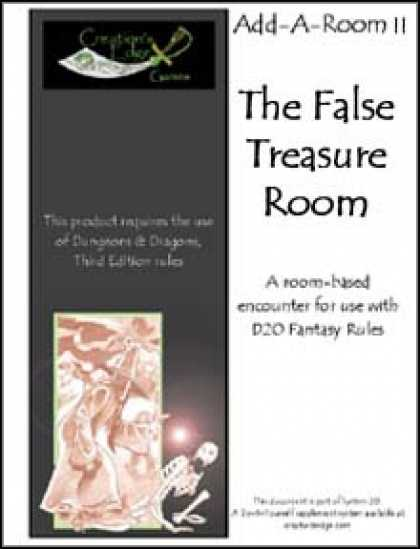 Role Playing Games - Add-A-Room II: The False Treasure Room