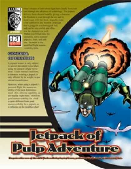 Role Playing Games - Jetpacks of Pulp Adventure