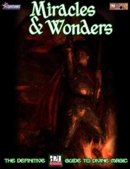 Role Playing Games - Miracles & Wonders: The Definitive D20 Guide to Divine Magic