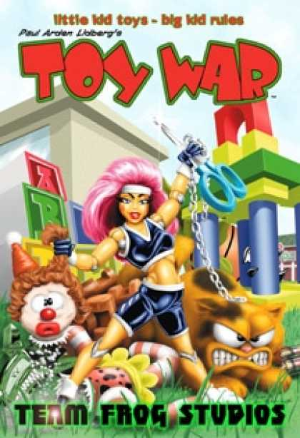 Role Playing Games - Toy War