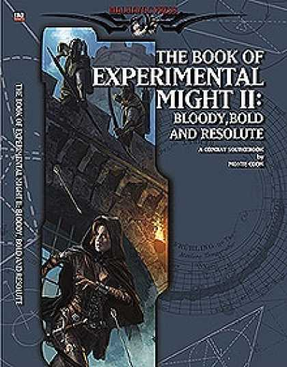 Role Playing Games - Book of Experimental Might II: Bloody, Bold, and Resolute