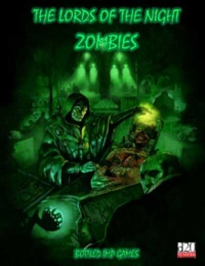 Role Playing Games - The Lords of the Night: Zombies