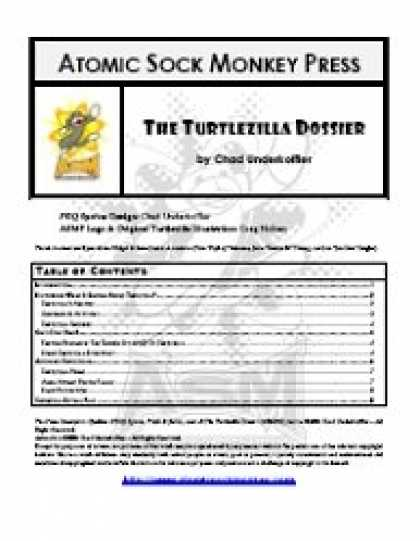 Role Playing Games - Truth & Justice: The Turtlezilla Dossier