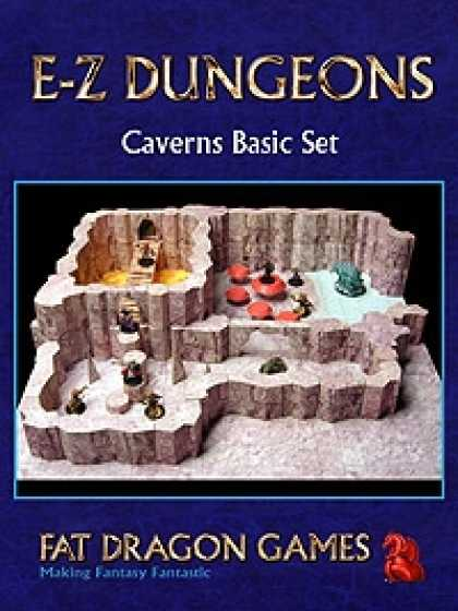 Role Playing Games - E-Z DUNGEONS: Caverns Basic Set