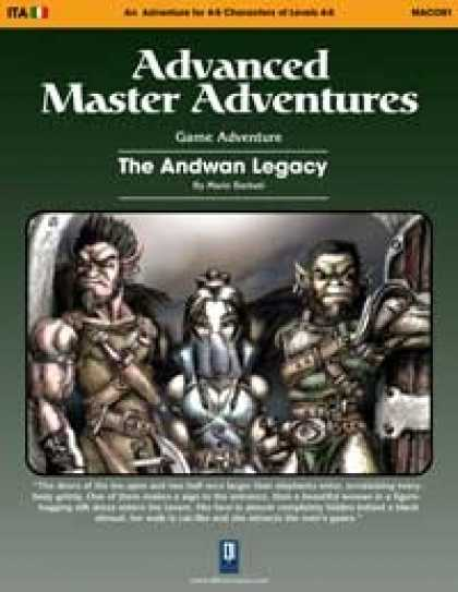 Role Playing Games - The Andwan Legacy (OSRIC)